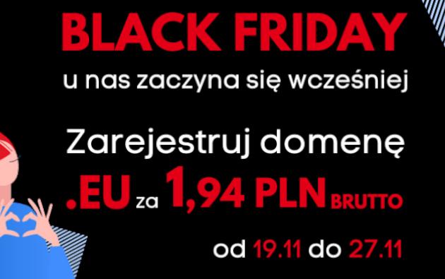 black friday w domeny.tv domena eu