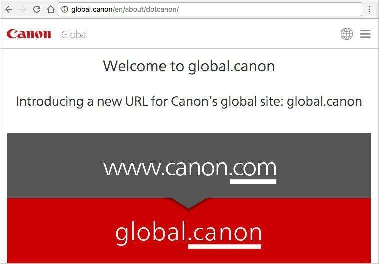 Canon .brand