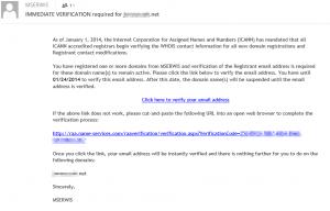 RAA link e-mail