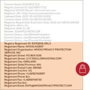 WHOIS ID Protect