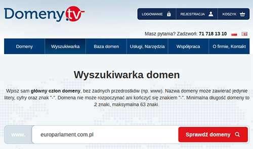 Wygasła rezerwacja .pl